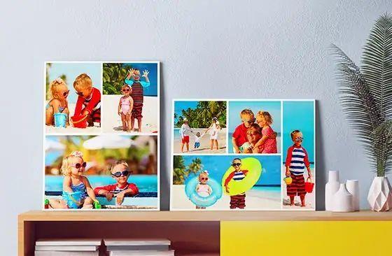 Verkauf - Fotoleinwand erstellen collage ...
